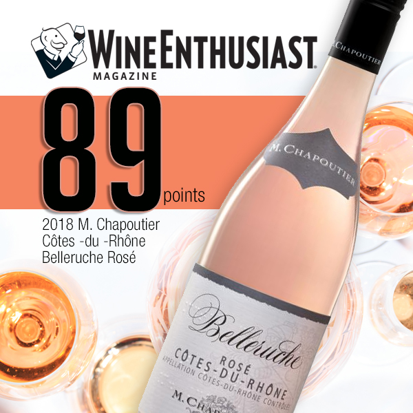 Belleruche Rose awarded 89 points!