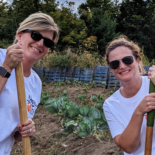 Community Service Farm Day with Tito's