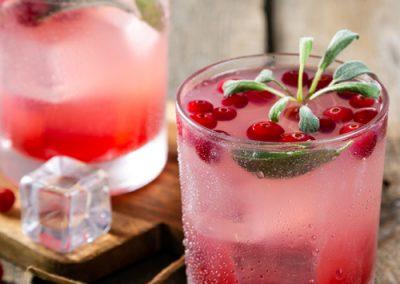 Cranberry Sage Smash