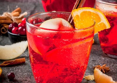 Cranberry Mule Punch