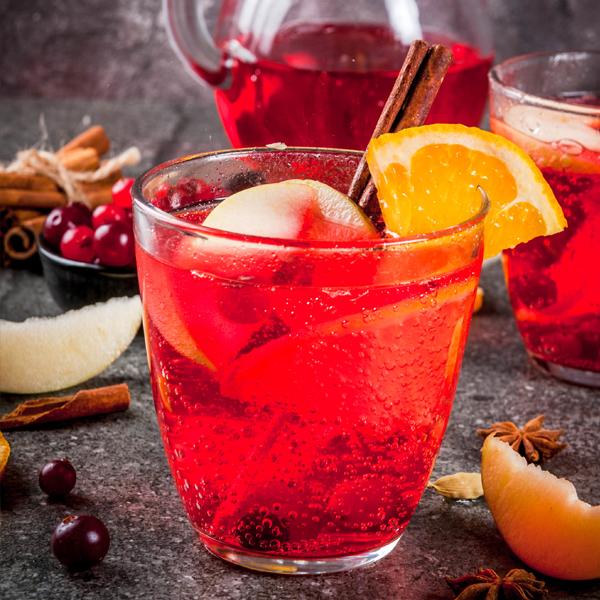 Cranberry Mule Punch