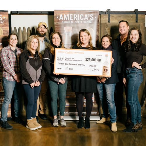 Friends of the Manchester Animal Shelter Receives $29,000 Donation!