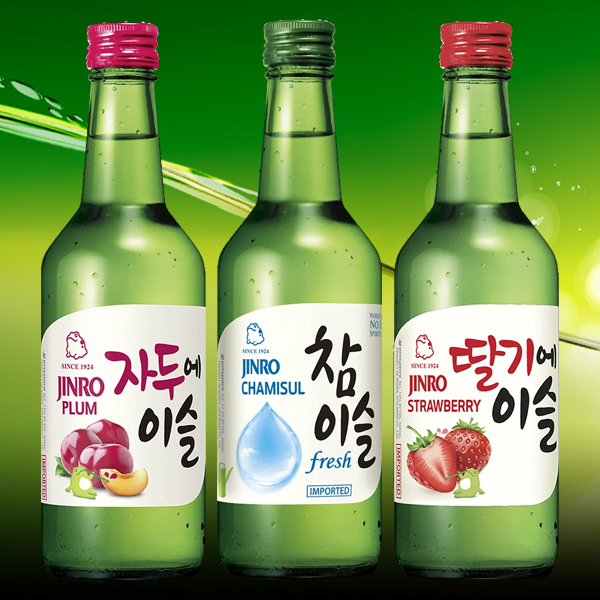 Jinro Soju – the #1 most selling spirit in the world!