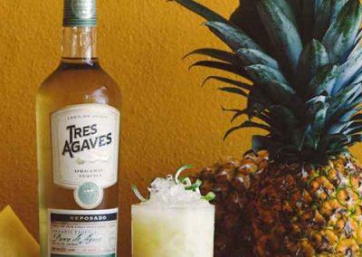 Pineapple Tumeric Margarita
